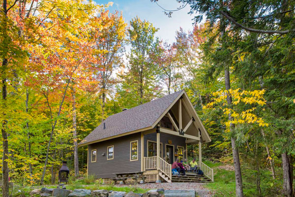 Image de Fall stay in a cabin: 20% discount.