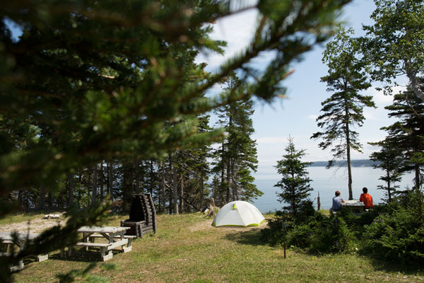 Image de Sépaq Anticosti: 35% discount on the camping package.