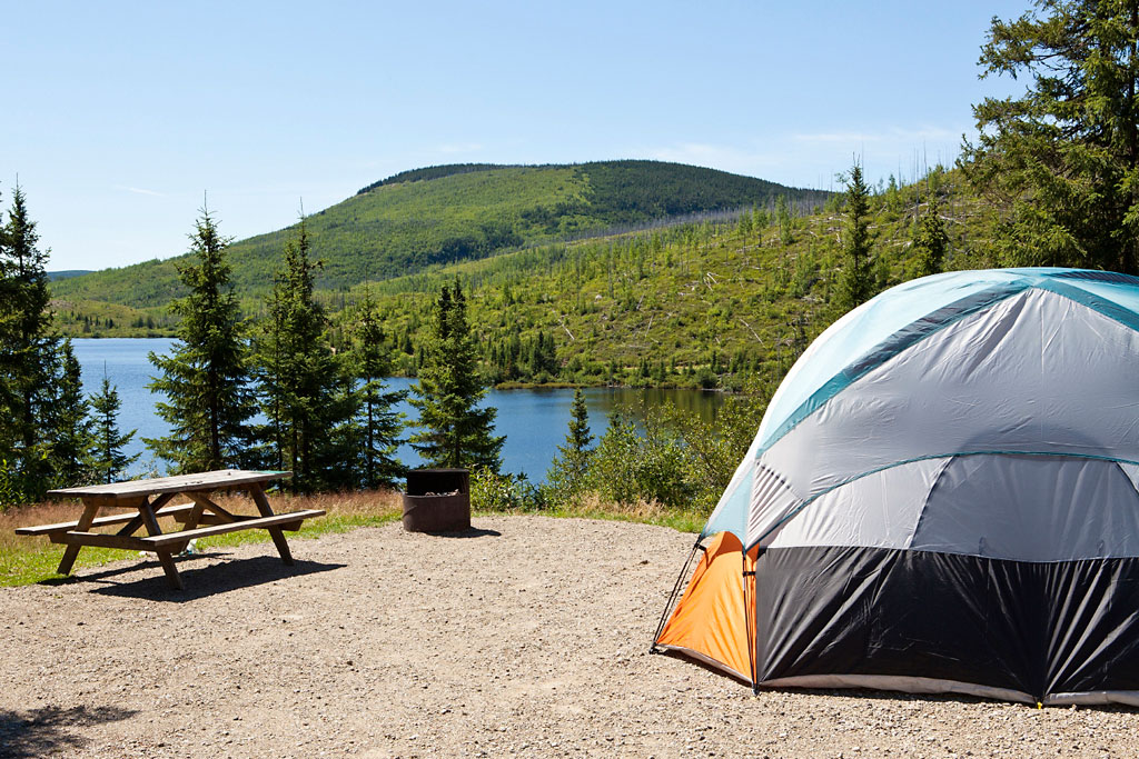 photo du camping: Parc national des Grands-Jardins