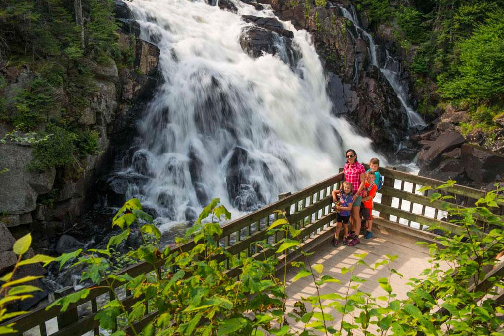 Quebec city  parc national de la jacques-cartier