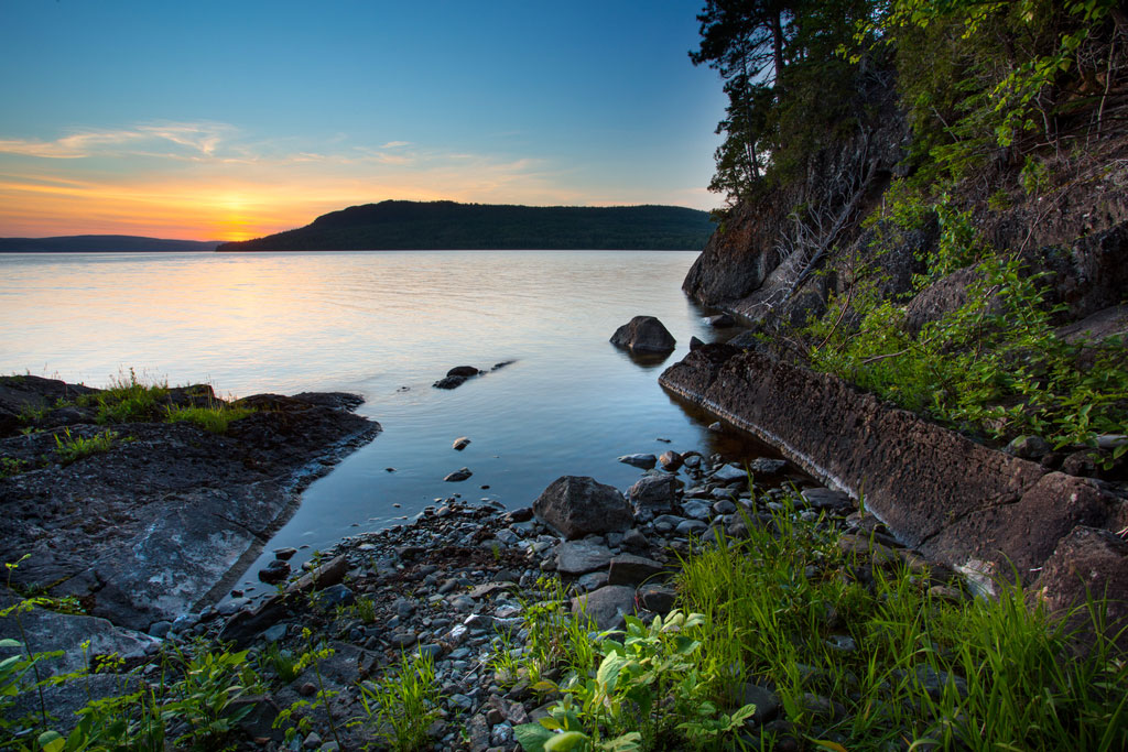 Parc national du lac t miscouata parcs nationaux s paq for Hebergement parc du bic